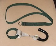 Hook Anchor Strap: Resistance Cables and Suspension Training Anywhere